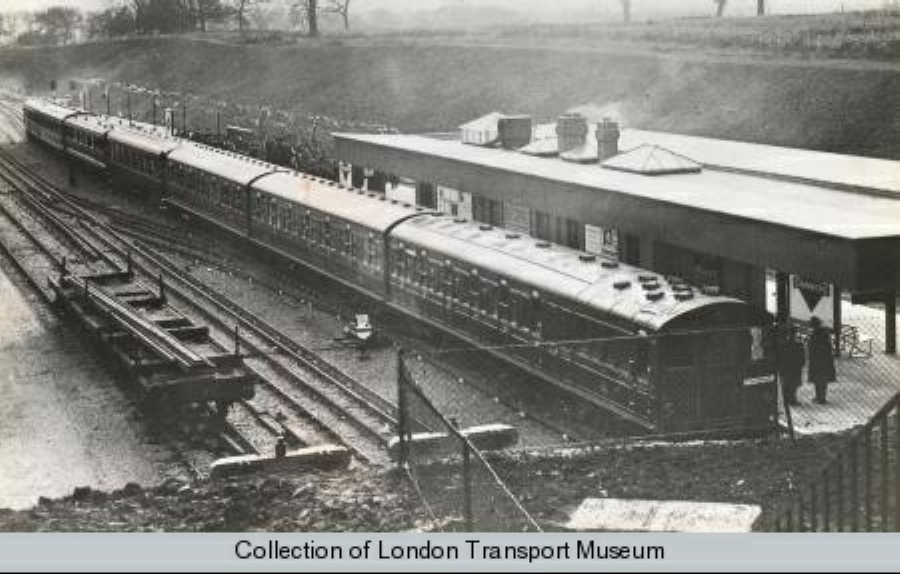 Stanmore1932Enlarged - London Underground's first 'ATO' system - 1932